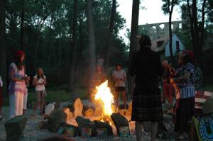 Ceremonie na Okoři