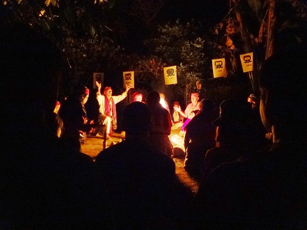 Posvátné ohně Guatemala 2012