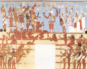 Staré Mayské malby